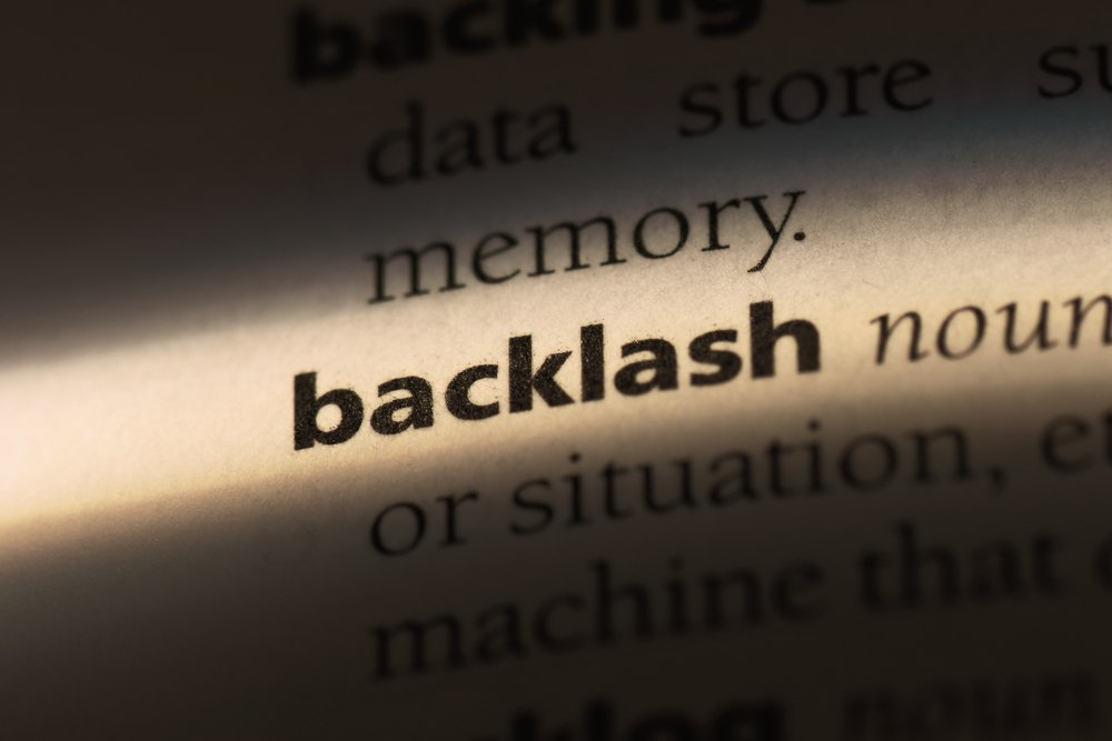 backlash word in a dictionary