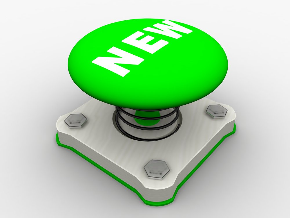 green new launch button