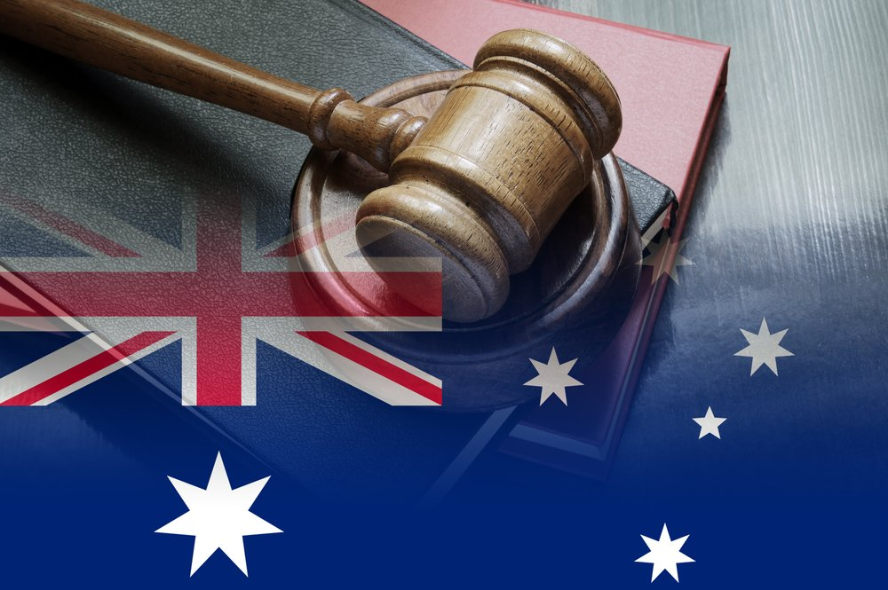australia law and justice concept