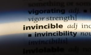 invincible in dictionary