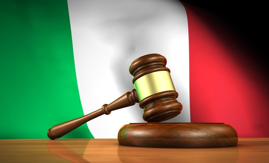 Italian Law And Justice Concept